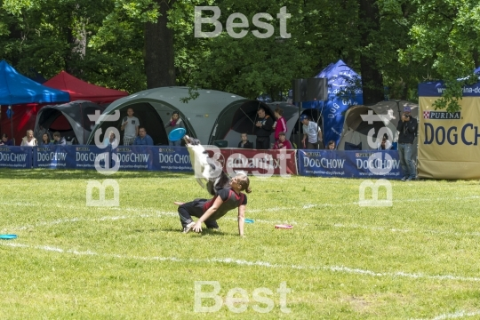 Dog Chow Disc Cup in Wroclaw, Poland Juni 1, 2014