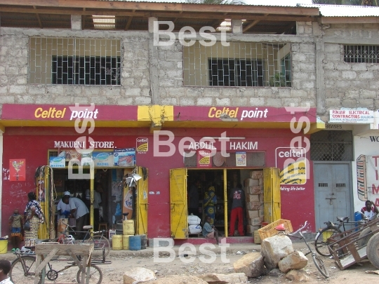 Colonial shop in Kenya