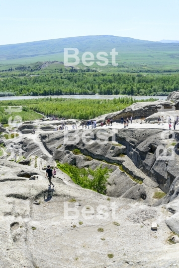 Rock city of Uplistsikhe